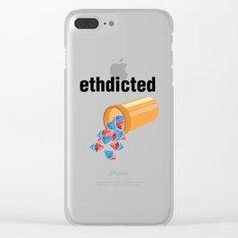 Ethereum | Ethdicted Clear iPhone Case