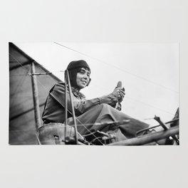 Hélène Dutrieu Photo, 1911 Rug