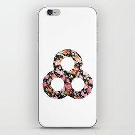 A pretty floral Bonnaroo iPhone Skin