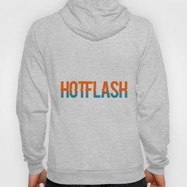 Hot Flash - White Background Hoody