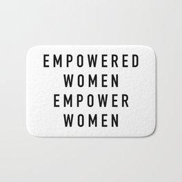 Empowered Women Bath Mat