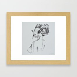 Khrysomallos Framed Art Print