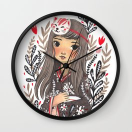 Misaki Wall Clock