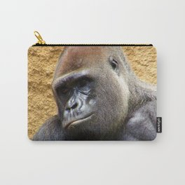 Gorilla at the LA Zoo Carry-All Pouch