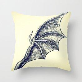 Batwing for Bats and a Bat Throw Pillow