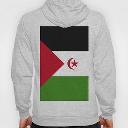 Western Sahara flag emblem Hoody