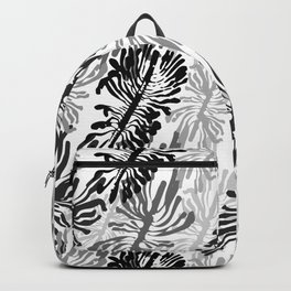 Bark beetle galleries seamless pattern Backpack
