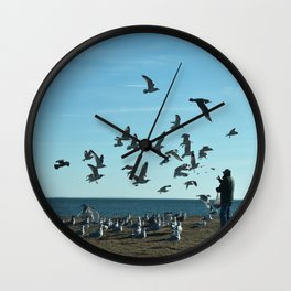 Feed Time Wall Clock