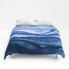 Washed Away Watercolor Comforters