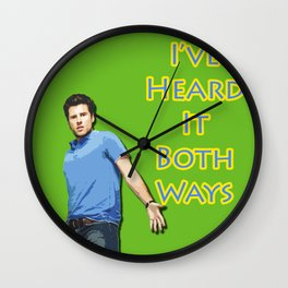 Shawn Spencer  Wall Clock