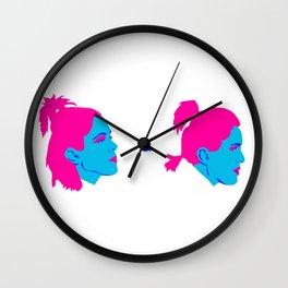 TEGAN AND SARA Wall Clock