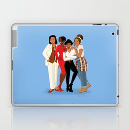 Living Single / Khadijah, Max, Regine & Synclaire Laptop & iPad Skin