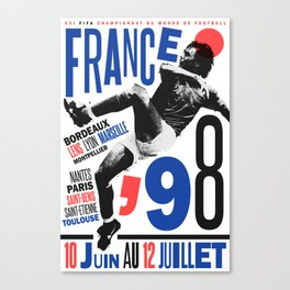 World Cup: France 1998 Canvas Print