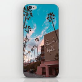 The Famous Beverly Hills Hotel iPhone Skin