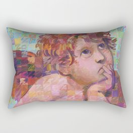 Sistine Cherub No. 1 Rectangular Pillow