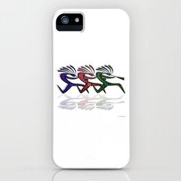 RUNNING  KOKOPELLI II iPhone Case