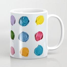 Rainbow Polka Daubs Coffee Mug