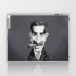 Groucho Marx Laptop & iPad Skin