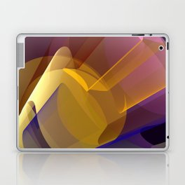 Modern colourful abstract with optical effects Laptop & iPad Skin