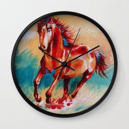 Runing Horse Wall Clock