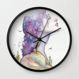Arise by Ruth Oosterman Wall Clock