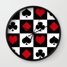 Playing card Wall Clock