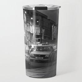 Police on Princes Street Travel Mug