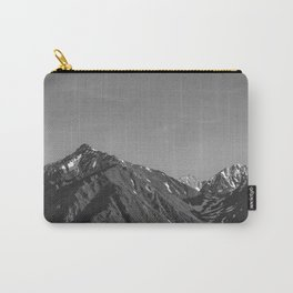 California's Sierra Mountains - B & W Carry-All Pouch