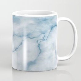 Light blue marble texture Coffee Mug