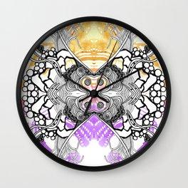 Rorshach 7 Wall Clock