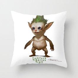 YT Troll - Revelations of Oriceran (C) Throw Pillow
