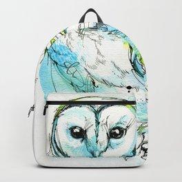 Aqua Tyto Owl Backpack
