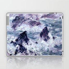 Monet : Storm At Belle Ile Laptop & iPad Skin