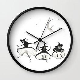 Witches' Sabbath Wall Clock