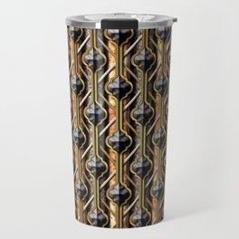 Metals Quatrefoil 2 Travel Mug