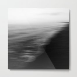 Flood. Abstract seascape. Metal Print