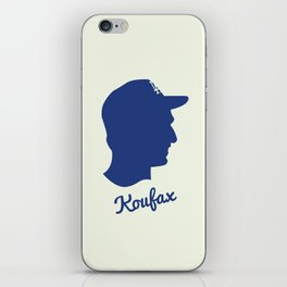 Sandy Koufax  iPhone Skin