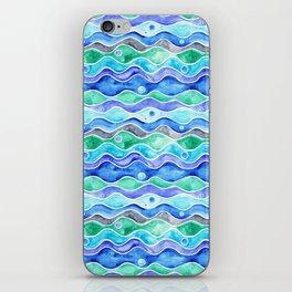 Ocean Pattern - Dolphin iPhone Skin