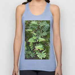 Moss and Fern Unisex Tank Top