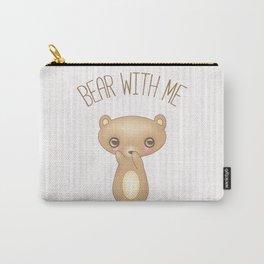 Bear With Me - Creepy Cute Teddy Carry-All Pouch