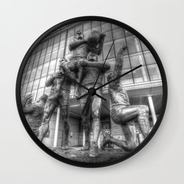 Rugby League Legends statue Wembley stadium Wall Clock
