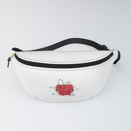 Peanuts Snoopy Christmas Fanny Pack