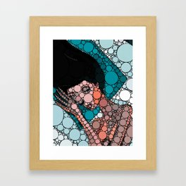 DC sleeps alone tonight Framed Art Print