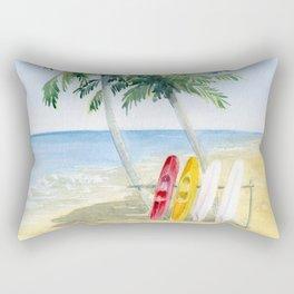 Tropical View Rectangular Pillow