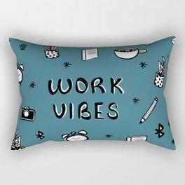 WORK VIBES Rectangular Pillow