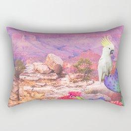 Flowers in the desert Rectangular Pillow