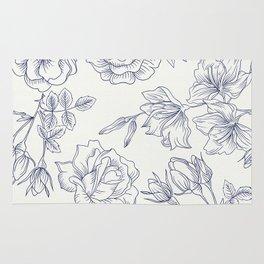 Vintage Roses x Springflowers Rug