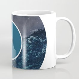 Vinyl Record Art & Design | Stormy Ocean Coffee Mug