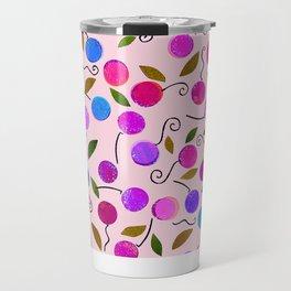 cherry-berrie jumble ... Travel Mug