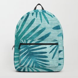 Mid Century Tiki Fronds Backpack